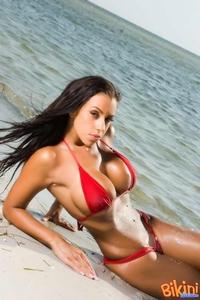 Hot Red Bikini 04