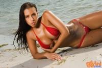 Hot Red Bikini 05