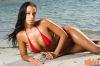 Hot Red Bikini 06